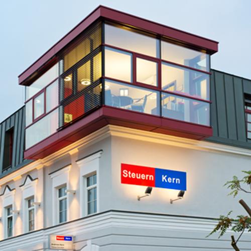 Steuern Kern  Dachgeschoßausbau  St. Pölten / NÖ