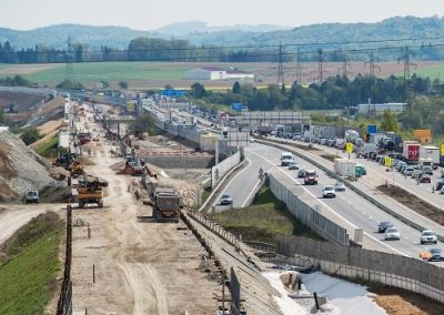 ÖBB-Westbahnstrecke  Güterzugumfahrung  St. Pölten – Loosdorf / NÖ