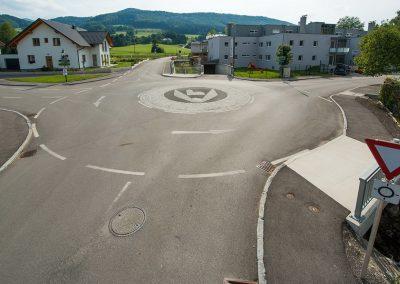 Mini-Kreisverkehr Kirchberg a. d. Pielach / NÖ