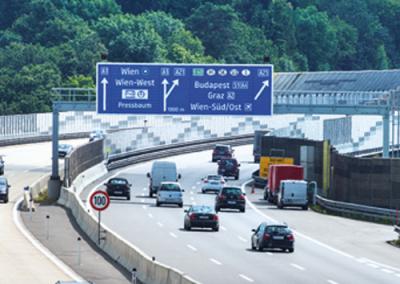 A1 Westautobahn  St. Christophen / Altlengbach / NÖ