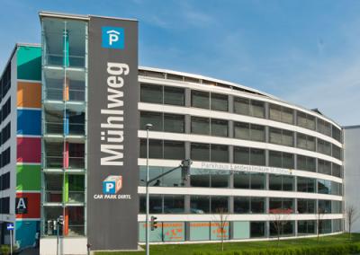 Mühlweg / Parkhaus  St. Pölten / NÖ